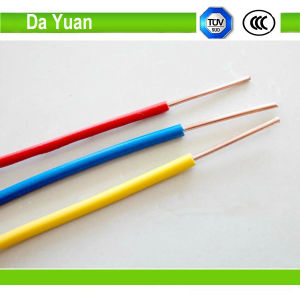 UL63 Fire Resistant Thw/Thhw/Thw-2 Thwn 10AWG 100% Copper Electric Cable pictures & photos