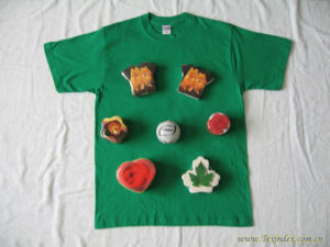 Customized Shape Promotional Compressed T Shirt pictures & photos