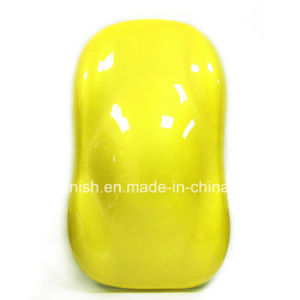 Auto Refinish 2k Lemon Yellow Solid Color Spray Paint pictures & photos