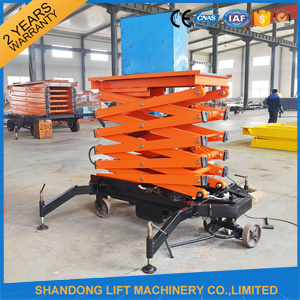 Hydraulic Scissor Lift Table Cargo Lift Table with Ce pictures & photos