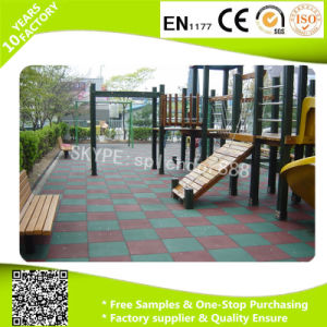 500*500mm, Wholesale Rubber Flooring Used Playground Tiles pictures & photos