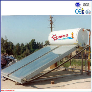Beautiful and Powerful Compact Flat Panel Solar Water Heater pictures & photos