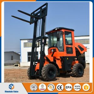 4WD All Rough Terrain Forklift with Best Price pictures & photos