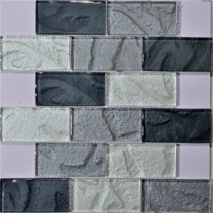 Bathroom Design Glass Mosaic Tile pictures & photos