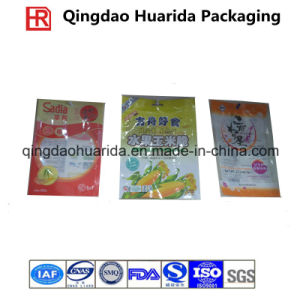 Cheap Clear PE Plastic Food Packaging Bag with Zipper pictures & photos