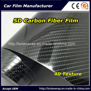 5D Carbon Fiber Film/Carbon Fiber Vinyl Wrap/5D Carbon Fiber Vinyl pictures & photos