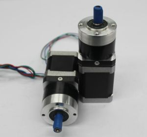 NEMA 17 Gear Reducer Geared Stepper Motor for 3D Printer and camera pictures & photos