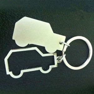 Promotion Metal Couple Car Shaped Keyholder for Custom Logo (F1251) pictures & photos