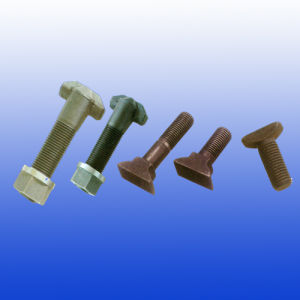 High Tensile Strength T Bolt for Railroad Construction pictures & photos