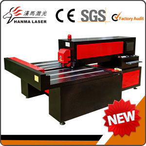 High Speed CO2 Laser Wood Cutter Die Cutting Machine
