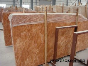 Tea Rosa Orange Red Marble Countertops/Sink/Stone/Covering/Mosaic/Slabs/Tiles Marble pictures & photos