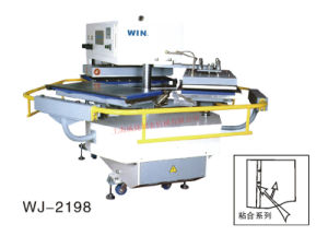 High Efficiency Cold Hot Turn Plate Press Machine for Shirt with Super Ironing Effect (WJ-2198)
