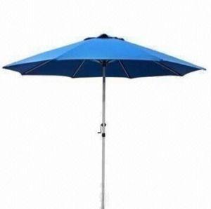 9ft Blue Patio Umbrella Aluminum Pole (BR-GU-23) pictures & photos