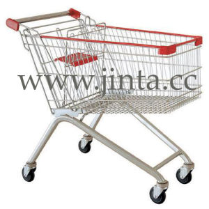 European Style Shopping Trolley, Hot Sale Shopping Trolley pictures & photos