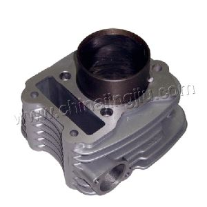 Motorcycle Cylinder Block (XCD125 Silver) pictures & photos