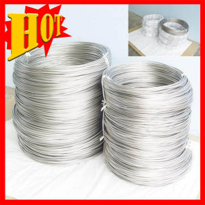 3.2mm Super Elastic Bright Titanium Wire for Jewelry pictures & photos