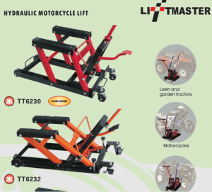 "Liftmaster 680kg Motorcycle Bike Lift ATV Jack with 1500lb Large 14"" Lifting Area pictures & photos"