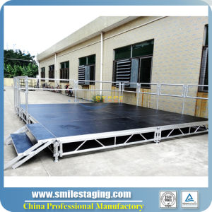 CE Approved Mobile Aluminum Stage Equipment for Concert Stage (RK-ASP4X4C) pictures & photos