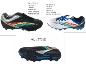 No. 47739 Couple′s Football Shoes Stock Shoes pictures & photos