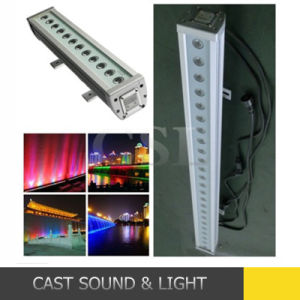 IP65 24PCS*3W Wall Washer LED Bar RGB pictures & photos