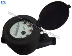 Muilti Jet Full Liquid Sealed Plastic Water Meter Class C pictures & photos