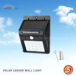 4/6/8/16/20 SMD LED Outdoor Solar Powered Waterproof Motion Sensor Wall Light pictures & photos