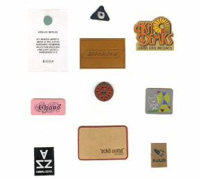 Garment Patch Hand Made Custom Brown Garment Genuine Leather Label, Leather Patch pictures & photos