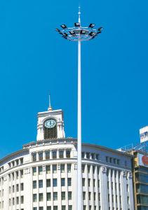 Round-Shaped Pole of High Mast Light