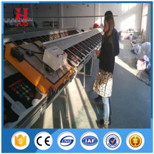 Manual Textile Sloping Screen Printing Table for Hot Sale pictures & photos