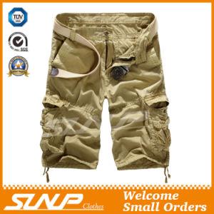 100% Cotton Cargo Shorts for Men pictures & photos