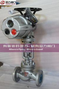 DIN Standard Wcb Flange Globe Valve pictures & photos