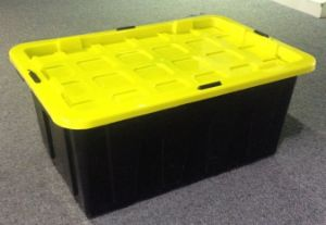 Heavy Duty Storage Crate with Lid (LE59803) pictures & photos