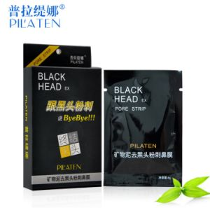 Nose Care Mineral Mud Pilaten Deep Cleansing Blackhead Removal Nose Mask 5PCS/Box pictures & photos