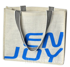 New Eco-Friendly Low-Carbon and Pollution-Free Jute Tote Bag (hbjh-7) pictures & photos