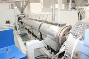 Plastic Pipe Machine= HDPE/PPR Pipe Production and Extrusion Line pictures & photos