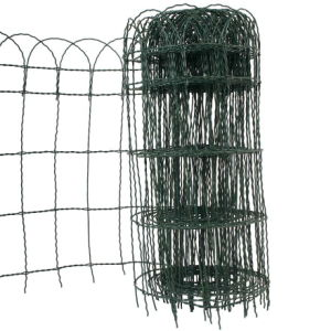 PVC Coated Border Fence in Green Color