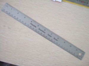 Stainless Steel Ruler pictures & photos
