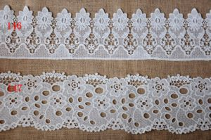 High Quality Chemical Water Soluble Embroidery Lace for Garment Accessories pictures & photos