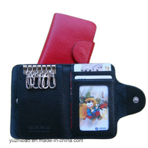 Popular Leahter Keychain Keyholder Keycase Wallet (EY-006) pictures & photos