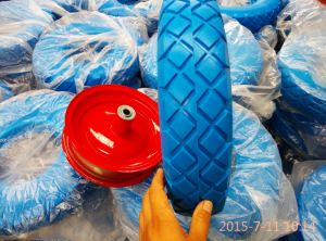 4.00-8 Wheelbarrow PU Foam Tire Tyre pictures & photos