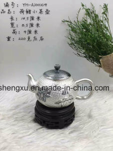 Chinese Popular Silver Using & Artwork Drinking Tea-Pot Sx-S4 pictures & photos