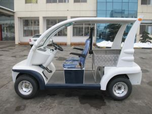 Street Legal Electric Cart, with Rear Cargo Box, Eg6043kr pictures & photos