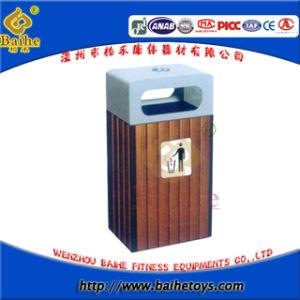 Park Waste Bin, Wooden Waste Bin (BH16004)