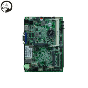 Fanless Intel 3.5 Inch Sbc Motherboards - Intel N2800 with 2 LAN, Lvds/VGA/ HD Display/6*USB/6*COM/DC_12V Input pictures & photos