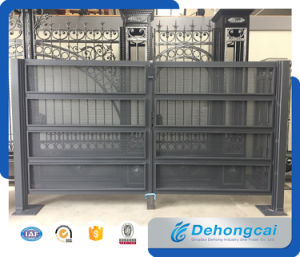 Safety European Style High Quality Aluminum Villa Yard Gate pictures & photos