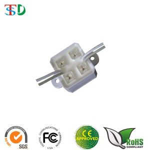 28X28mm Waterproof LED Module Light with 4PCS of 5mm Piranha LED