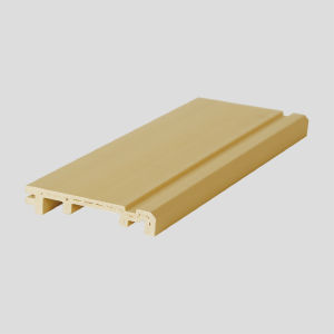 WPC Environmental Protection Waterproof PVC Laminated Skirting (VK-T2A) pictures & photos