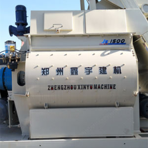Concrete Mixture Machine with Twin-Shaft (Js1500) pictures & photos