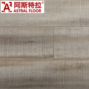 Silk Surface Laminate Flooring (V-Groove) pictures & photos