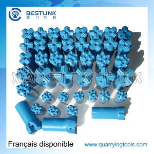 Tungsten Carbide Taper Drill Bits for Hard Rock Drilling pictures & photos